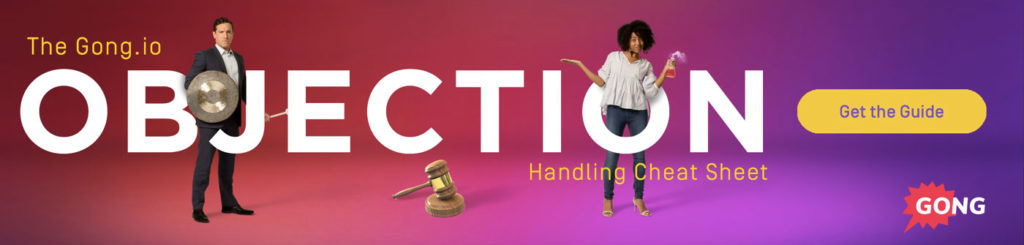 Objection Handling Technique Cheat Sheet