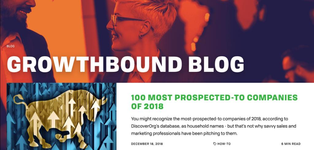 Growthbound Sales Blog