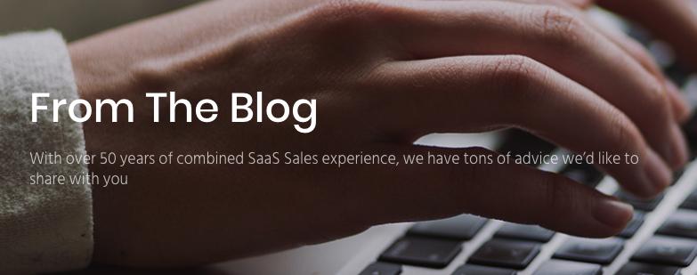 Best sales blog - Sales source blog