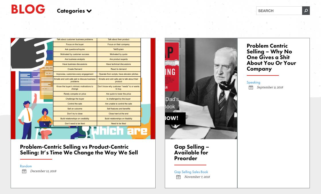 a sales guy sales blog