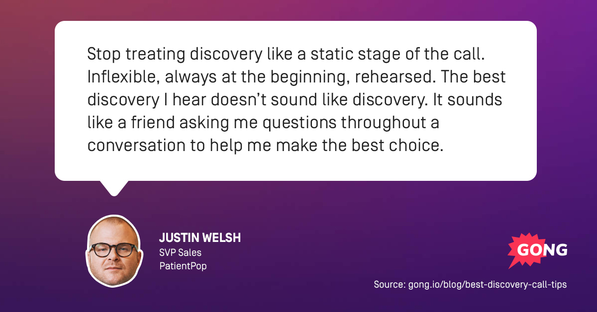 best discovery call tips justin welsh